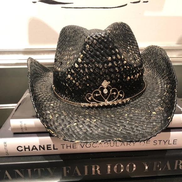 0e0932ff480 Peter Grimm tiara cowboy hat